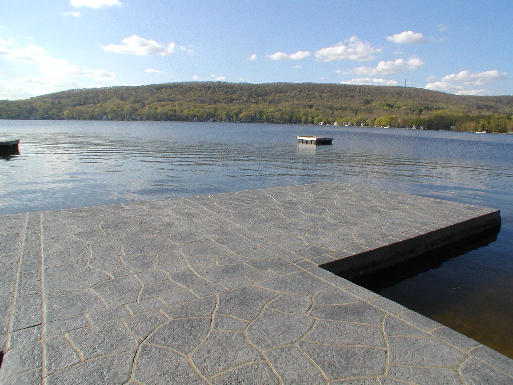 Culver Lake Concrete Dock Restoration Sussex County